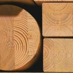 Строительство деревянного дома: оцилиндрованное бревно или брус